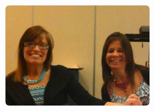 Barb Murray and her Miracle, Paula Murray at BIA 2015 Conference