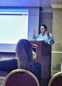 """Amy Speaking at BIA Conference 2015 """"Being Inspired Through Blogging"""""""